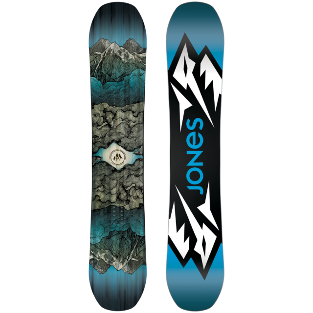 Jones Snowboards, Image of Men's Jones Mountain Twin Snowboard